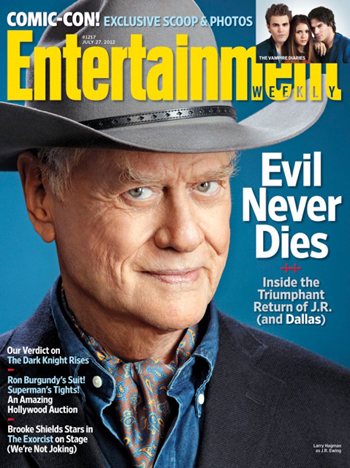Larry Hagman Entertainment Weekly