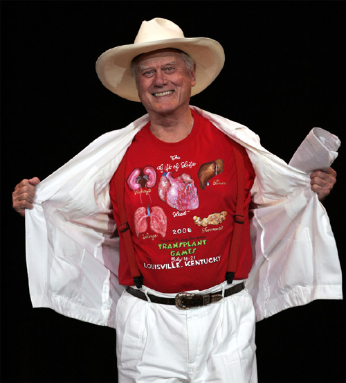 Larry Hagman National Kidney Foundation
