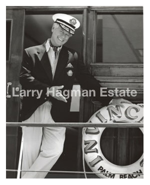 Larry Hagman Staying Afloat